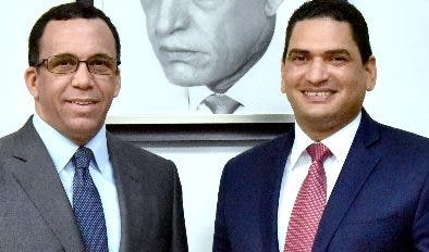 Andrés  Navarro junto a Miguel Medina. FUENTE EXTERNA