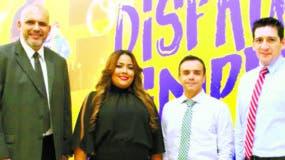 Juan Garza, Gema Camacho, Juan Miguel Silva y Gustavo Maco.