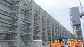 Técnicos de Punta Catalina y la CDEEE ofrecieron un recorrido a representantes de medios de comunicación por las edificaciones de las plantas.  Elieser tapia
