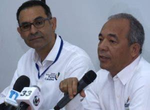 Jaime Aristy Escuder y Rubén Jiménez Bichara.