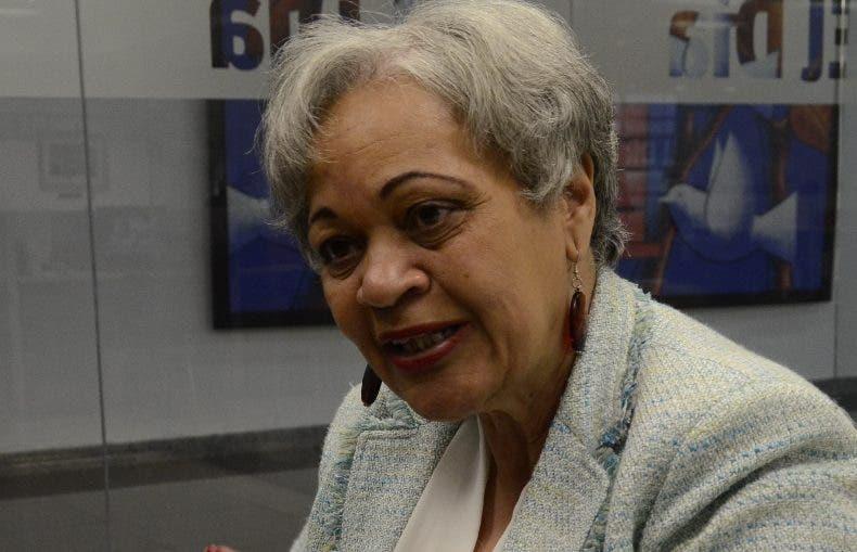 Providencia Matos, viceministra   de  la Mujer.