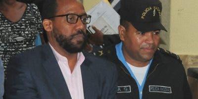 El mercadólogo Pablo Ross fue enviado  a la cárcel de Najayo.  Foto: Aracelis Mena.