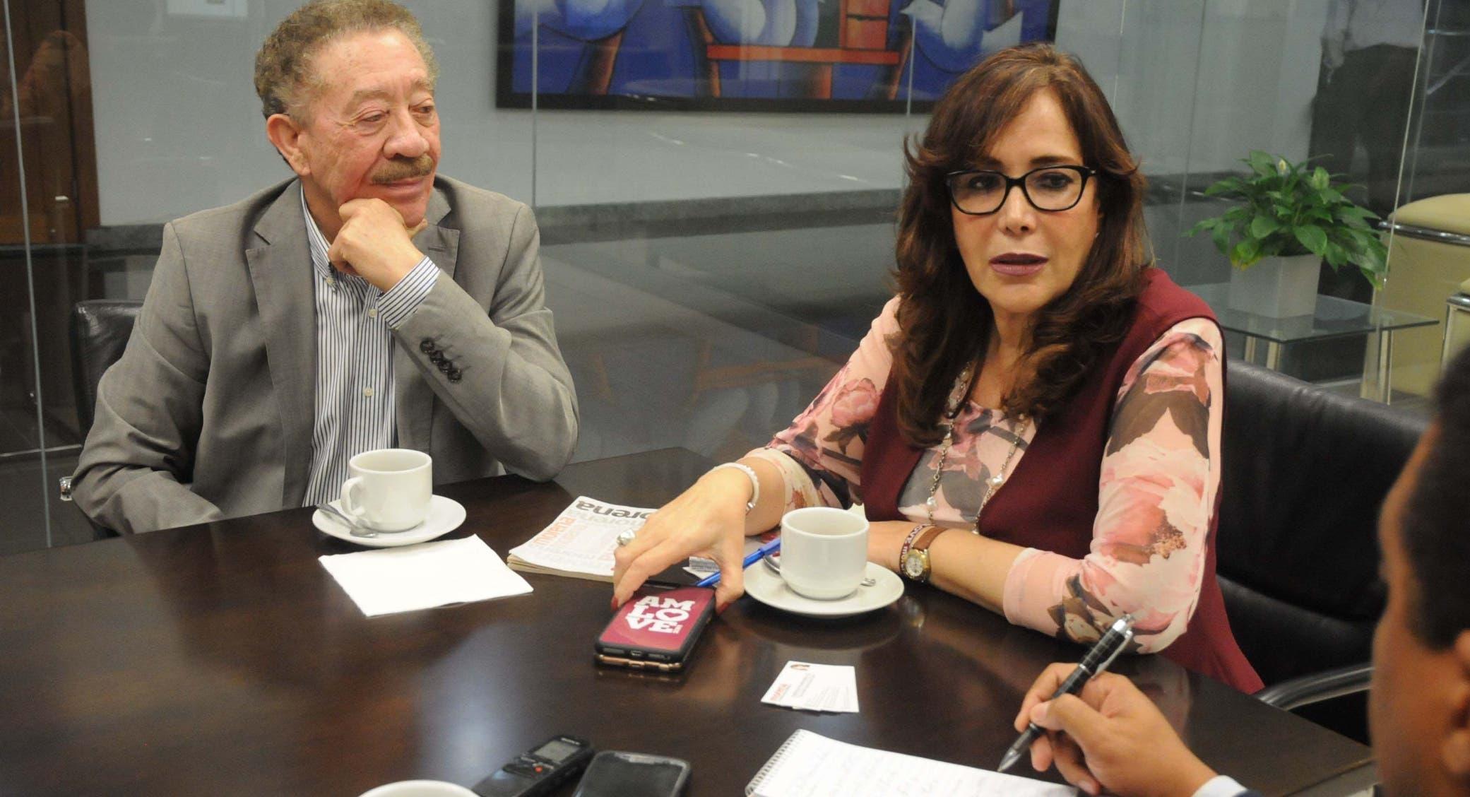 """Yeidckol Polevnsky explica que México recibe muchos """"transmigrantes"""", cuya intención final es llegar a Estados Unidos.  Nicolás Monegro"""