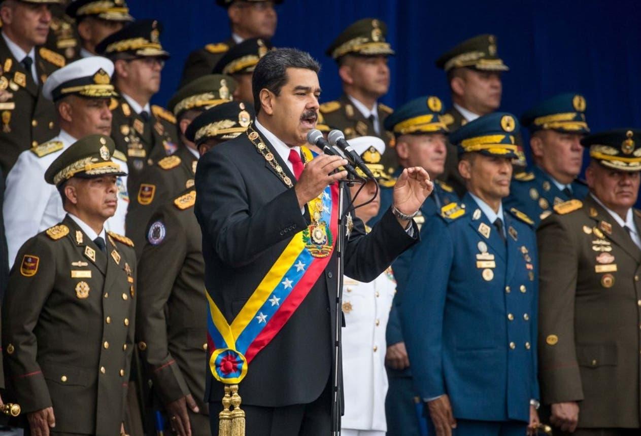 Las Fuerzas Armadas de Venezuela reiteraron hoy su respaldo al presidente Nicolás Maduro.