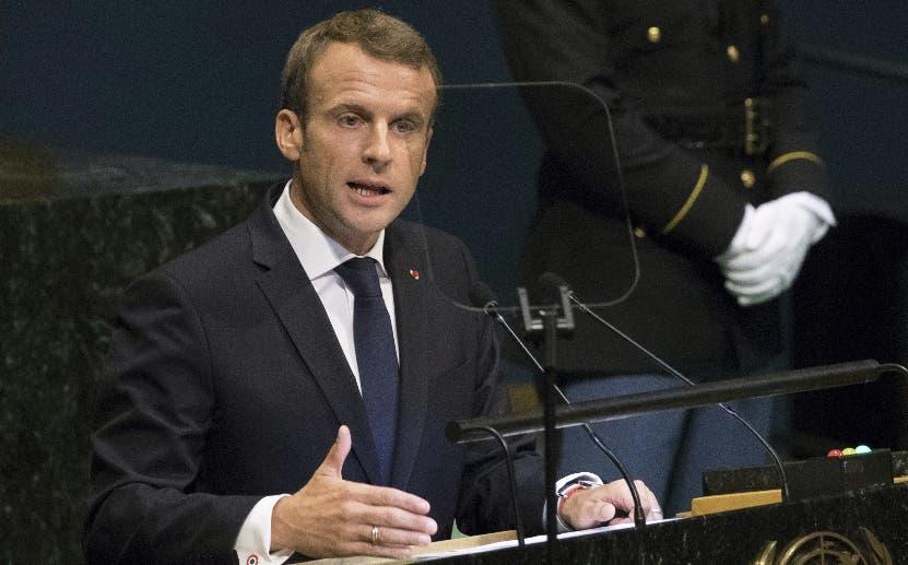 Macron rechaza trabajar  con quien irrespete Acuerdo París.