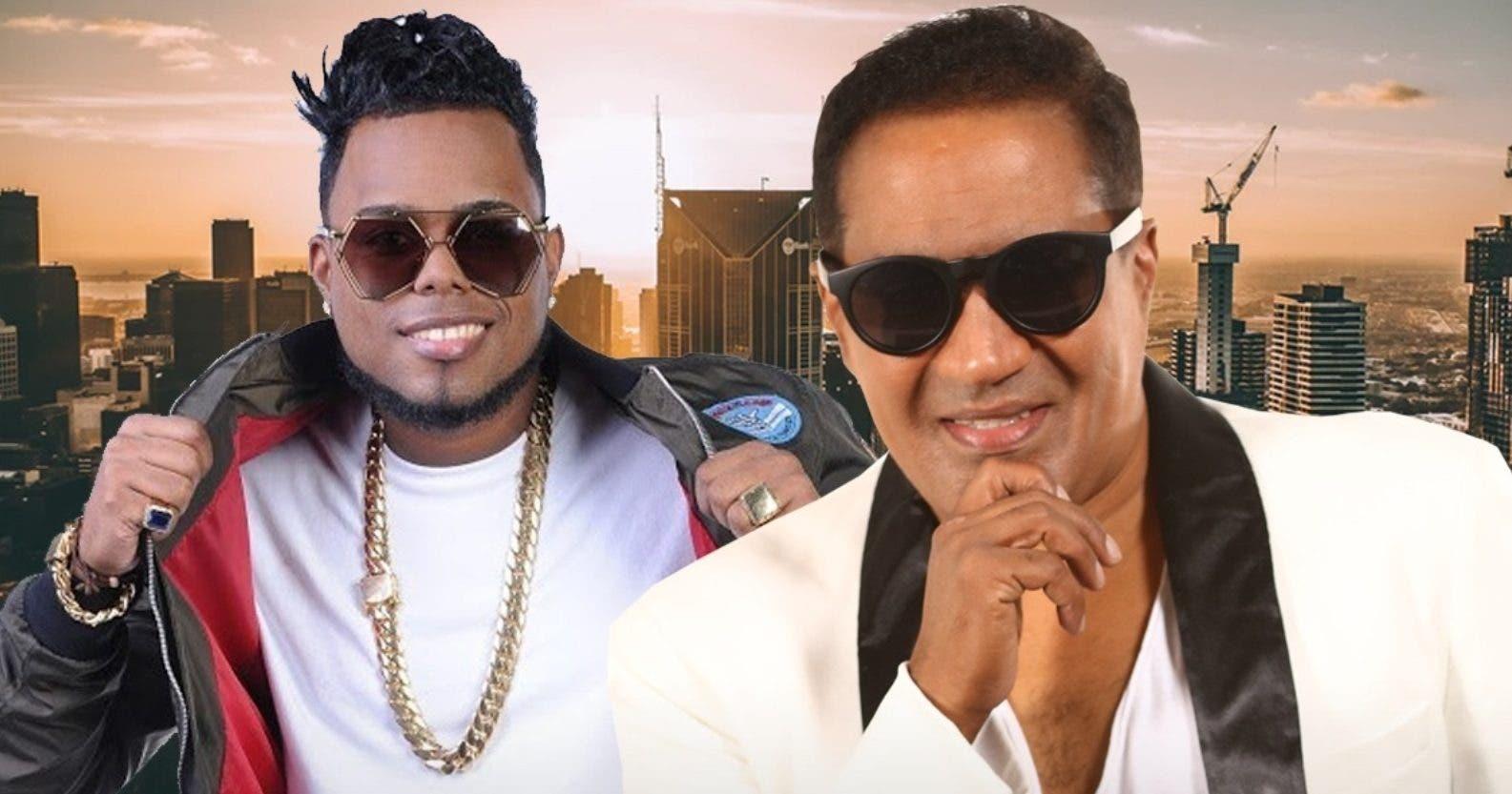 """Musicólogo aceptó este """"featuring"""" con Kinito Méndez   tras coincidir  en una actividad en las patronales de Haina."""
