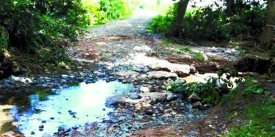 Tanto en Daza Dos como en Los Montones hay que construir dos puentes.  Pedro J. Sánchez