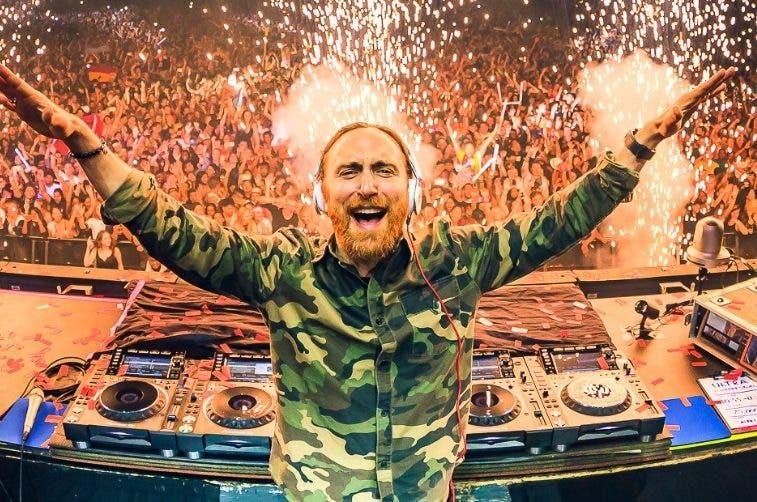 Guetta es uno de los DJ más famosos del mundo.  Archivo