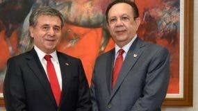Romilio Gutiérrez Pino y Héctor Valdez Albizu.  fuente externa