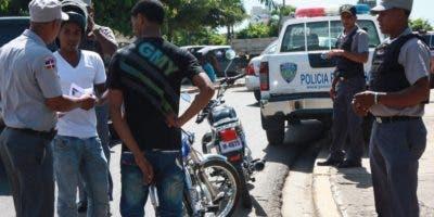 Parte de los operativos realizados por la Policía Nacional.
