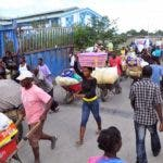 Se estima que en la frontera dominico-haitiana hay más de 32 pasos de comercio fronterizo.