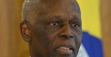 José Eduardo dos Santos está preso en Angola.