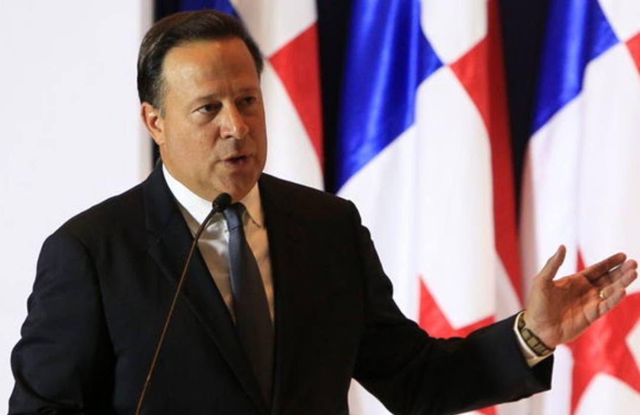 El presidente de Panamá, Juan Carlos Varela, pidió respeto a la soberanía de su país.