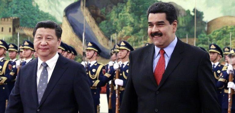 El presidente Nicolás Maduro estará tres días en China.