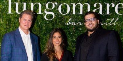 Edmon Elías, Diana Guerra, Guido Abreu.