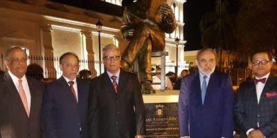 Juan Daniel Balcácer, Huchi Lora, José Núñez,  Francisco Pagán y Juan Gilberto Núñez.