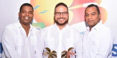 Leonardo Medrano, Emile Mariotti y Franklin Mairení Castillo.