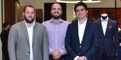 Alejandro Rivas, Luis Emilio Velutini y Manuel Higuera.