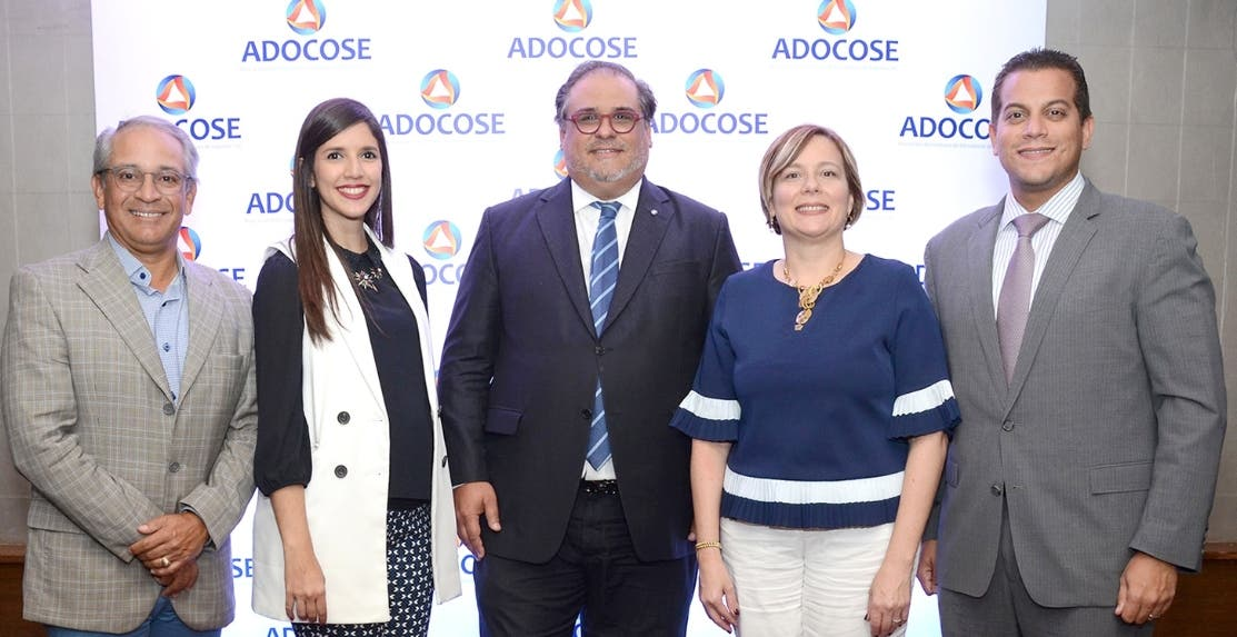 Félix Olivo, Nicole Toribio, Ramón Omar Alma, Zaide Alba y Franklin Glass.
