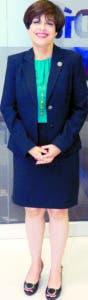 La directora de la Oficina Nacional de Defensa Pública, Laura Hernández Román, foto: Elieser Tapia.