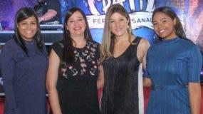 Carolina Fernández, Mariel Méndez, Patricia Ramella y Daniela Báez.