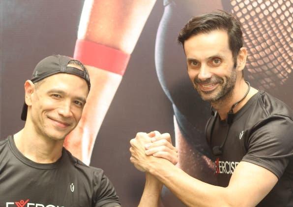 Ransés Ho y Juan Carlos Vargas.