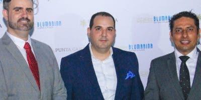 Jesús Joven, Franklin Balaguer y Aaron Cazares.
