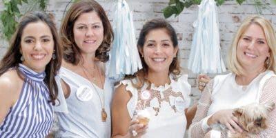 Nicole Imbert de Schad, María Solange de la Rocha, María Fernanda Arredondo y Priscila Najri.