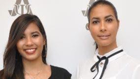 Las directoras del centro,  Aura  y Angie Santana.