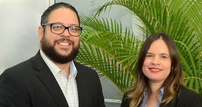 Carlos Reyes y Leonie Zapata.