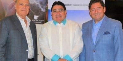 Luis Emilio Velutini, Miguel Calzada y Michele de Prisco.
