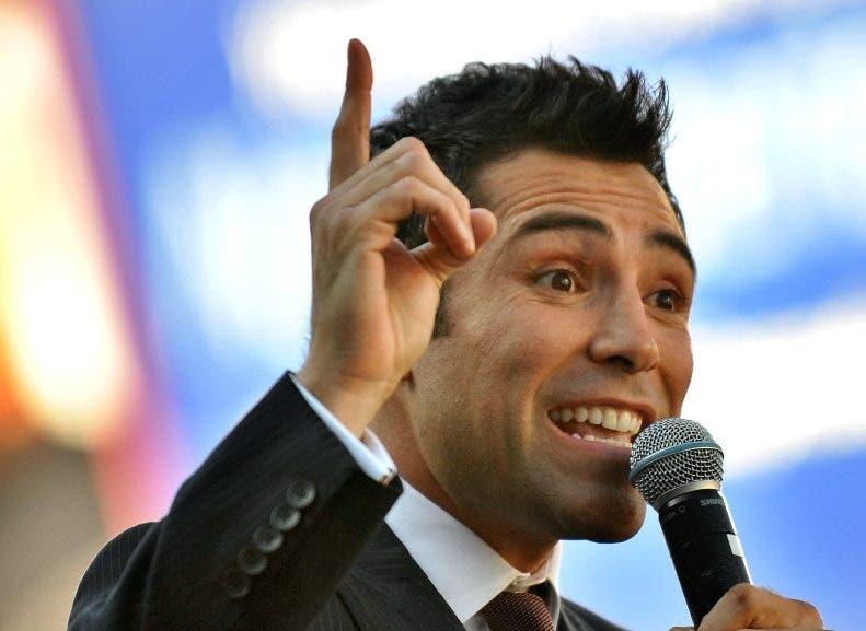 De la Hoya cree que tiene condiciones para ser presidente.