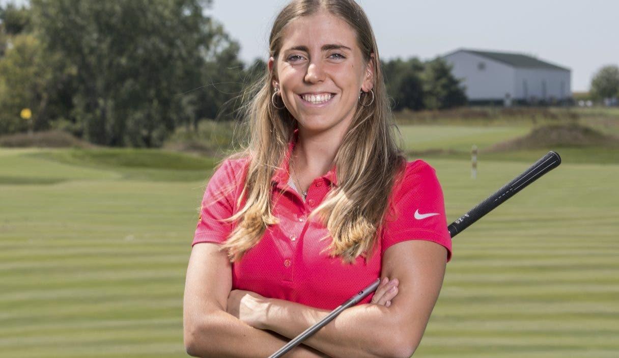 Celia Barquin, cuyo cuerpo  fue encontrada en una bolsa de golf tirada en un área del campo.