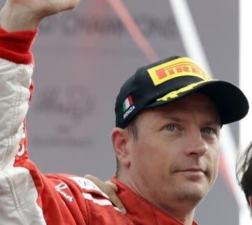 Kimi Raikkonen  actuará ahora con Alfa Romeo.