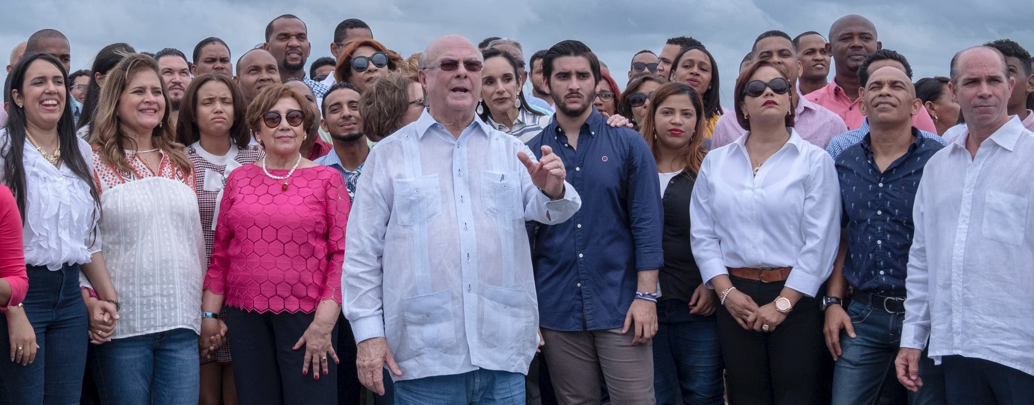 El expresidente Hipólito Mejía se convierte en el primero  del PRM que oficializa su precandidatura presidencial con miras al año 2020.