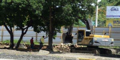 Los trabajos en el Parque del Este provocaron el rechazo de los lugareños.  josé de león