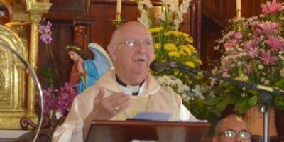 Monseñor  Antonio Camilo habló sobre los vicios.  Ana Mármol.