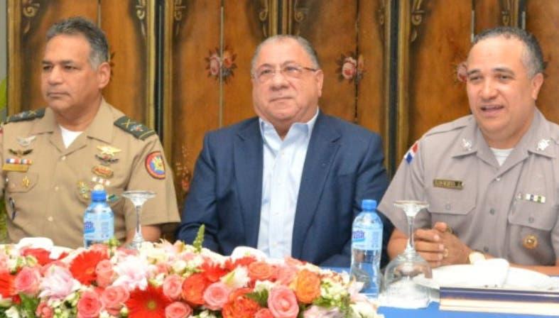 La reunión fue realizada ayer en la sede de la Policía.