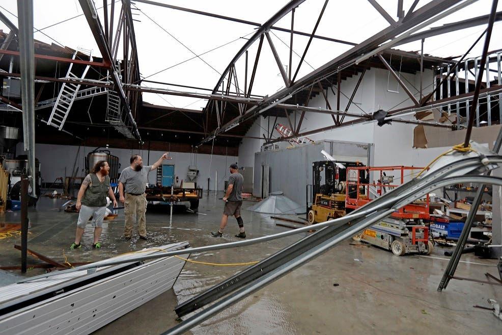 Huracán Florence desata su furia contra Carolina del Norte