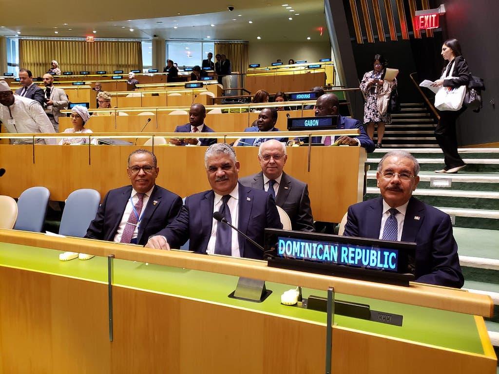 El presidente Danilo Medina en la ONU.