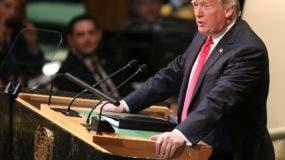 """Donald Trump declaró hoy ante la ONU que la Corte Penal Internacional (CPI, en La Haya) no tiene """"legitimidad ni autoridad"""" y rechazó la """"ideología de lo global"""" como una amenaza a la soberanía nacional y el patriotismo."""