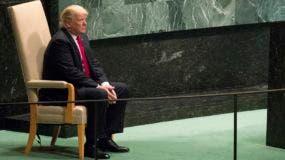 """""""Estados Unidos acaba de anunciar aranceles a otros 200.000 millones de productos chinos, para un total de 250.000 millones de dólares"""", recordó."""