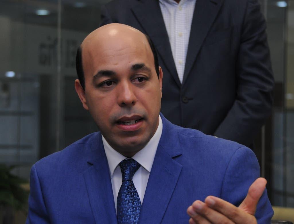Hipólito Polanco, precandidato presidencial del Partido de la Liberación Dominicana. Foto: José Adames Arias.