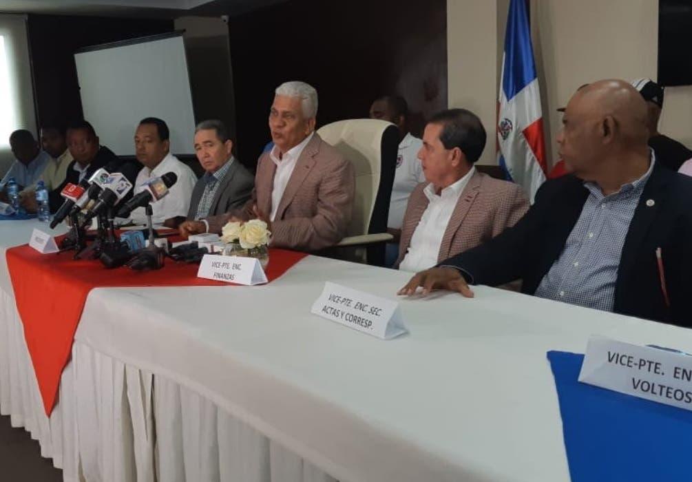 El anuncio lo hizo Ricardo De Los Santos en rueda de prensa. Foto de archivo.