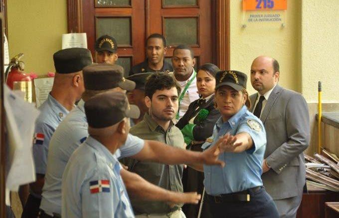 Gabriel Villanueva es acusado de matar a Andreea Celea.