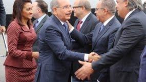 El presidente Danilo Medina llegó ayer a Nueva York para participar en la Asamblea General de la ONU.