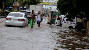 Calles inundadas en la ciudad,San vicente de Paul/foto Jose de Leon