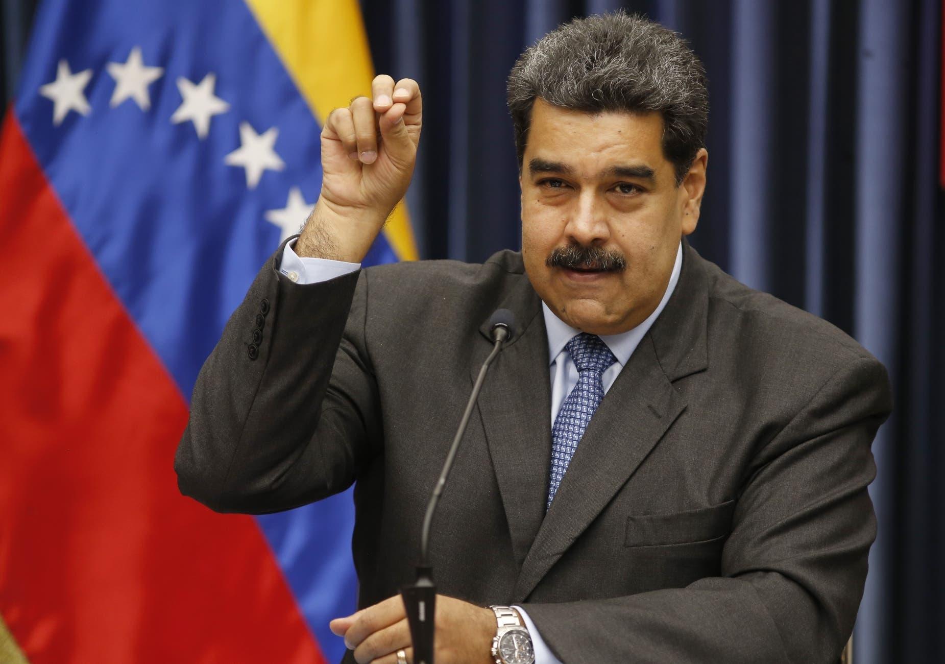 Nicolás Maduro, presidente de la República Bolivariana de Venezuela. .AP