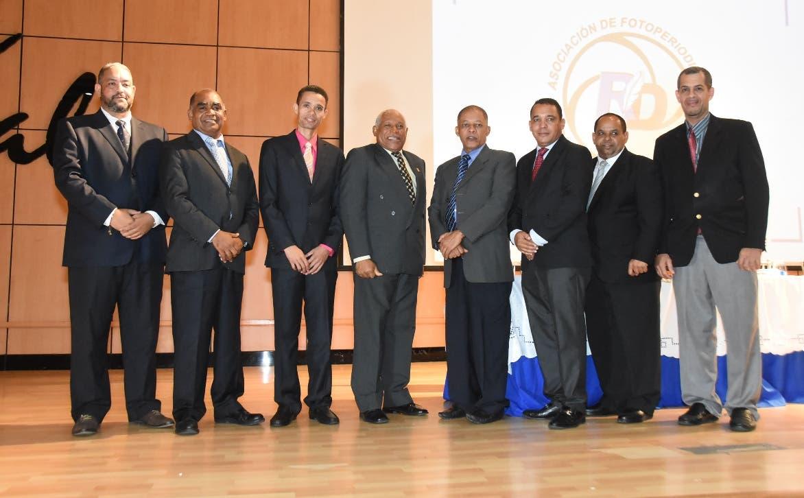 Los miembros de la  Asociación Dominicana de Fotoperiodistas. Foto: Alberto Calvo.