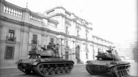 El 11 de septiembre de 1973 se consumó el golpe de Estado en contra de Salvador Allende que estaba dentro del palacio de La Moneda.